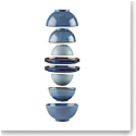Lenox Luna Dinnerware Nesting 8Pc Set Blue