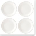 Lenox Profile Dinnerware Accent Plate White Set Of Four