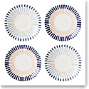 Kate Spade China by Lenox, Brook Lane Tidbit Plate Set Of Four