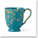 Lenox Sprig And Vine Dinnerware Footed Mug Turquoise