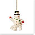 Lenox 2021 Snowball Snowman Ornament