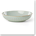 Lenox French Perle Groove Ice Blue Dinnerware Pasta Bowl, Single