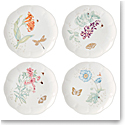 Lenox Butterly Meadow Gold Dinnerware Accent Place Setting Of Four Gold