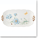 Lenox Butterly Meadow Gold Dinnerware Oblong Tray Gold