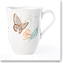 Lenox Butterly Meadow Gold Dinnerware Blue Butterlfy Mug Gold