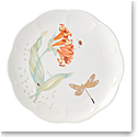 Lenox Butterly Meadow Gold Dinnerware Dragonfly Accent Plate Gold