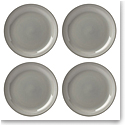 Lenox Profile Dinnerware Dinner Plate Grey Set Of Four