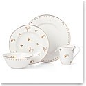 Lenox Opal Inn Flourish Dinnerware 4 Piece Place Setting