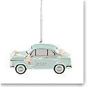 Lenox 2021 Just Married Vintage Car Ornament