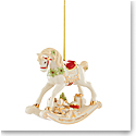 Lenox 2021 Babys 1st Christmas Rocking Horse Dated Ornament