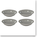 Lenox Profile Dinnerware Dinner Pasta Bowl Grey Set Of Four