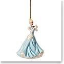 Lenox 2021 Disney Princess Cinderella with Glass Slipper Ornament