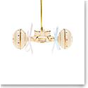 Lenox 2021 Babys 1st Christmas Rattle Ornament