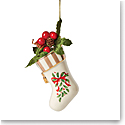 Lenox 2021 Holiday Accent Stocking Ornament
