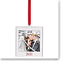 Lenox 2021 Frame Charm Metal Ornament