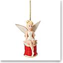 Lenox 2021 Disney 2021 Tinker Bell Christmas Ribbon Ornament