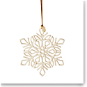 Lenox 2021 Snow Fantasies Snowflake Ornament