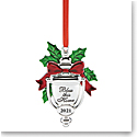 Lenox 2021 Bless This Home Metal Ornament