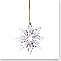 Lenox 2021 Optic Snowflake Crystal Ornament