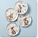 Lenox Butterfly Meadow Bunny 4-Piece Accent Plate Set