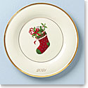 Lenox 2021 Stocking Annual Accent Plate, Single