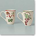 Lenox 2021 Holiday Mr and Mrs 2 Piece Mug Set