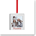 Lenox 2021 Thankful Frame Charm Metal Ornament