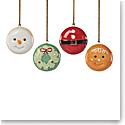 Lenox 2021 Christmas Characters Macaron Set of 4
