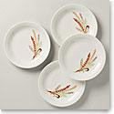 Lenox Profile Harvest 4 Piece Accent Plate Set