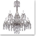 Waterford Crystal, Powerscourt 12 Arm Crystal Chandelier