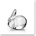Steuben Rabbit Redux Sculpture