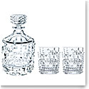 Nachtmann Punk Decanter and 2 Whiskey Tumblers, Set of Three