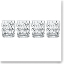 Nachtmann Punk Whiskey Tumbler, Set of 4