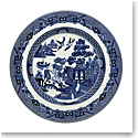 "Johnson Brothers Willow Blue Salad Plate 7.75"", Single"