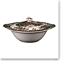 """Johnson Brothers Friendly Village Covered Vegetable Bowl 8"""""""