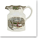 "Johnson Brothers Friendly Village Pitcher Large 8"" 64oz., Single"