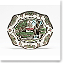 """Johnson Brothers Friendly Village Bless This House Tray 11.5"""""""