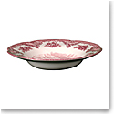 "Johnson Brothers Old Britain Castles Pink Rim Soup, Pasta Bowl 8.7"", Single"