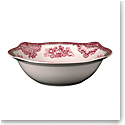 Johnson Brothers Old Britain Castles Pink Open Vegetable Bowl Round