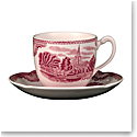 Johnson Brothers Old Britain Castles Pink Teacup 7oz., Single
