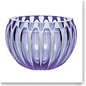 "Moser Crystal Century Bowl 9.8"" Alexandrite and White"