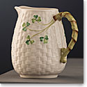 Belleek Masterpiece Collection Shamrock Round Bottomed Jug Limited Edition
