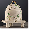 Belleek Masterpiece Collection Shamrock Honey Pot and Stand Limited Edition