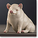 Belleek Masterpiece Collection Pig Limited Edition