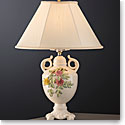 Belleek Masterpiece Collection Rose Isle Lamp and Shade Limited Edition