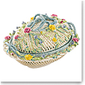 Bellek Masterpiece Oval Covered Basket