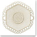 Belleek China Hexagon Basket Plate 1917 - 1927, Limited Edition of 99