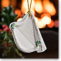 Belleek 2018 Harp Ornament