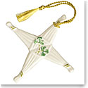 Belleek St. Brigids Cross Ornament