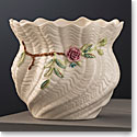 Belleek Masterpiece Collection Carlingford Cache Pot Limited Edition